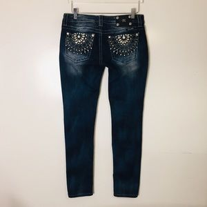 Miss Me Signature Rise Skinny Jeans Size 29